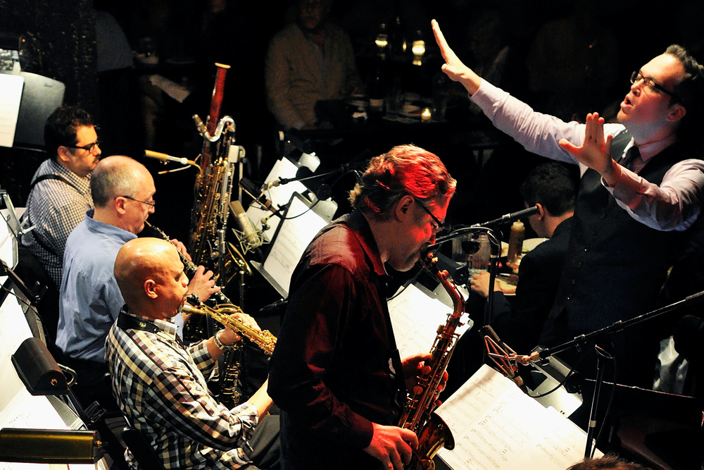BIG BANDS TEEMING WITH LIFE: MARIA SCHNEIDER ORCHESTRA AND RYAN TRUESDELL'S GIL EVANS PROJECT