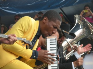 Jon Batiste and Stay Human at Newport, 2014