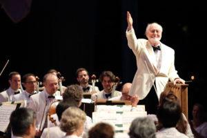 Hilary Scott: John Williams conducting the Boston Pops at Tanglewood On Parade 2016